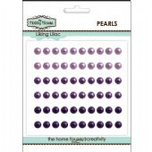 The Hobby House Self Adhesive Pearls - 5mm Liking Lilac - HH506
